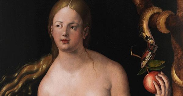 Dürer - Adam und Eva (Ausschnitt)
